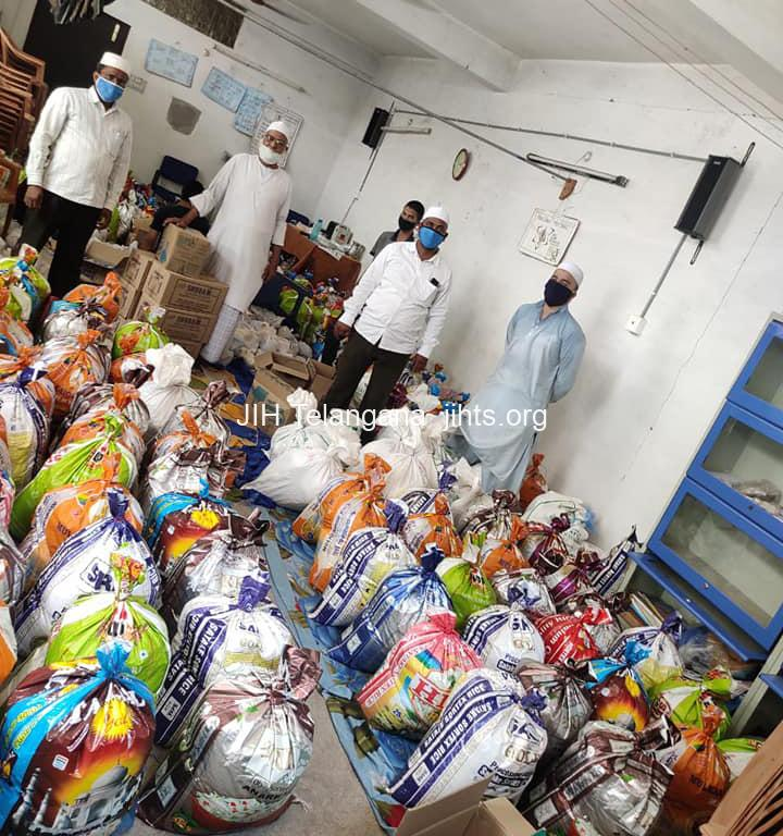 Karimnagar Ramadan Kit distribution
