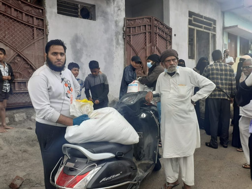 Food packet distribution